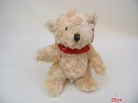 Bär stehend 25cm mit Halstuch