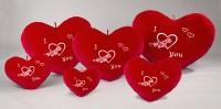 Herz rot LOVE 83cm