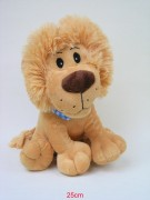 Löwe mit Schal 25cm