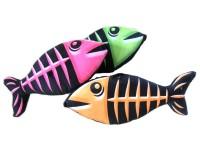 Fisch Neon mit Gräten 30cm 3-fach sortiert