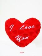 Herz 25cm ILY Herzmusterplüsch