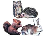 Tierkissen Fotodruck 4-fach sortiert
