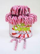 Zuckerstange Cane rot/weiß 12gr 72 Stück