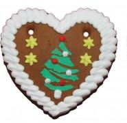 Lebkuchen Weihnachtsherz 1008 40gr sortiert