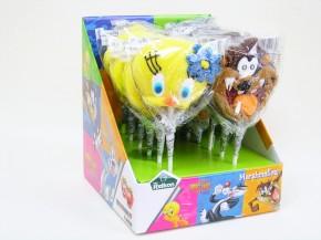 Looney Tunes Marshmallow Pop 12 Stück MHD 3/19