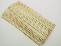 Fruchtstäbe Bambus 300x3,2mm 1000 Stück