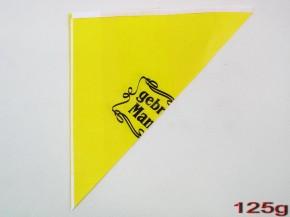 Spitztüten 125gr Gebr. Mandel gelb 1000 Stück