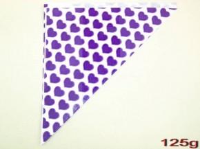 Spitztüten 125gr Herz lila 1000 Stück