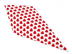 Spitztüten 500gr Herz rot 1000 Stück