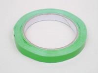Verschluss-Klebeband grün 12mm 66m