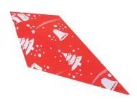 Spitztüten 125gr Weihnachten rot 1000 Stück