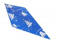 Spitztüten 250gr Weihnachten blau 1000 Stück