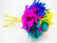 Neckwedel einfarbig in 5 Farben sortiert
