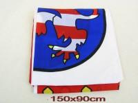 Fahne Hessen 90x150cm mit 2 Ösen